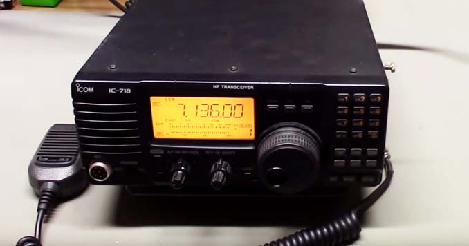 The Icom IC-718