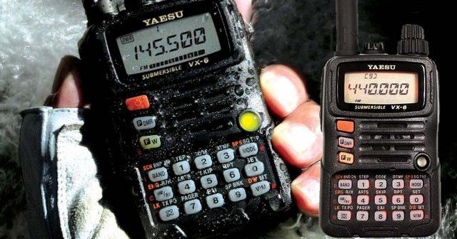 Yaesu VX-6R Radios