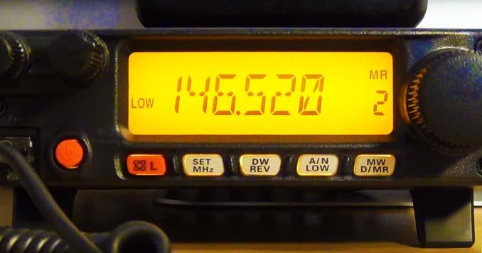 Yaesu FT-2980R monitoring