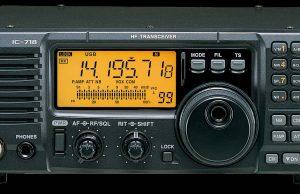 Icom IC-718 Ham Radio