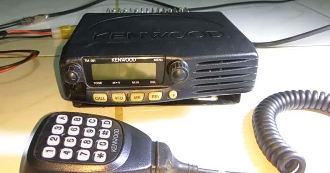 Kenwood TM-281A 2 Meter Radio