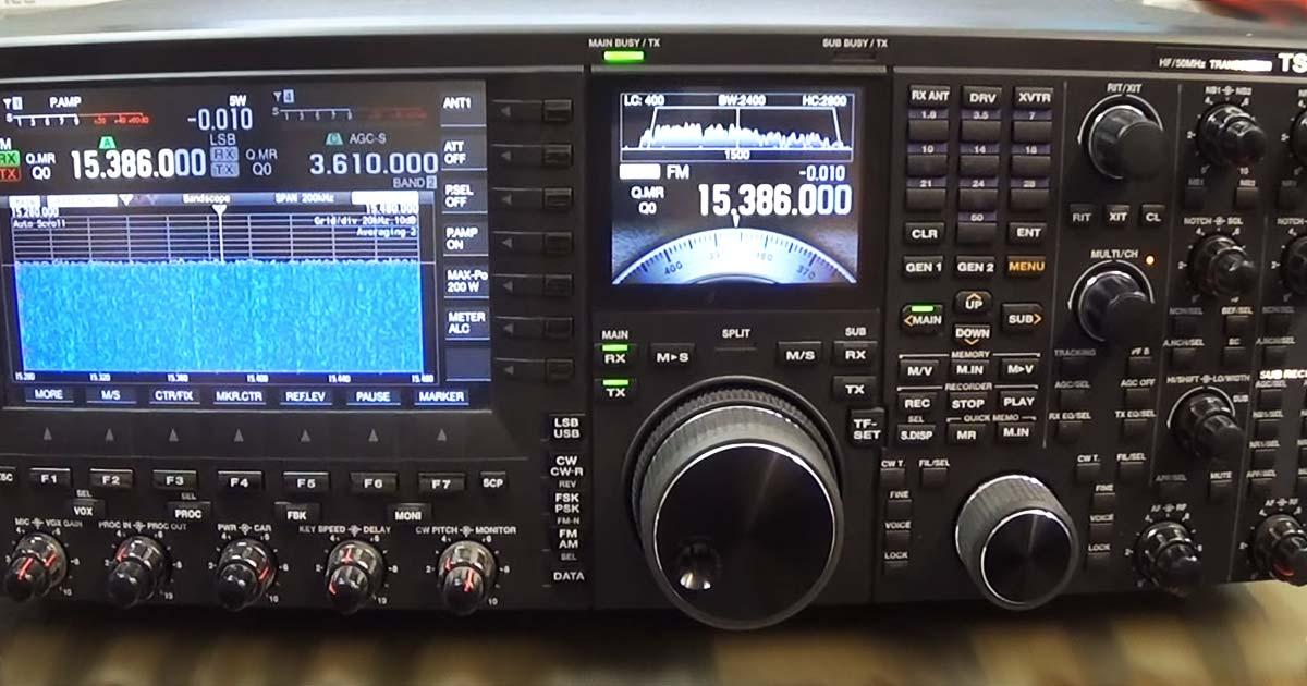 Kenwwod TS-990S Display